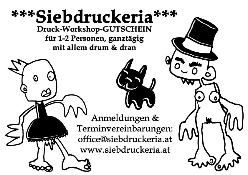 Siebdruckeria Workshop
